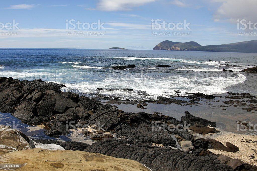 Santiago Island, Galapagos royalty-free stock photo