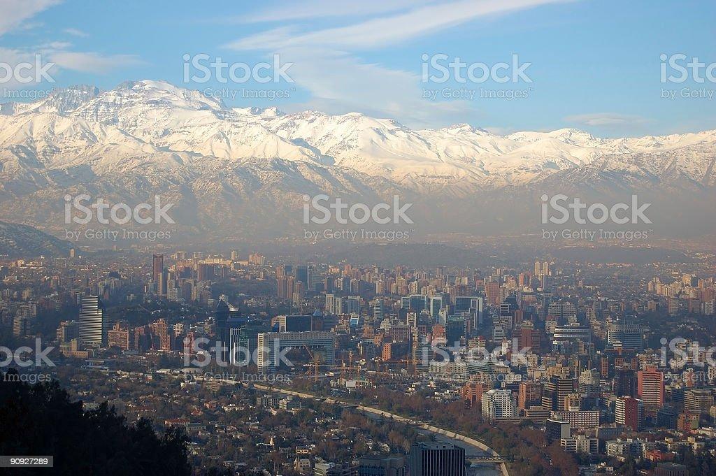 Santiago royalty-free stock photo