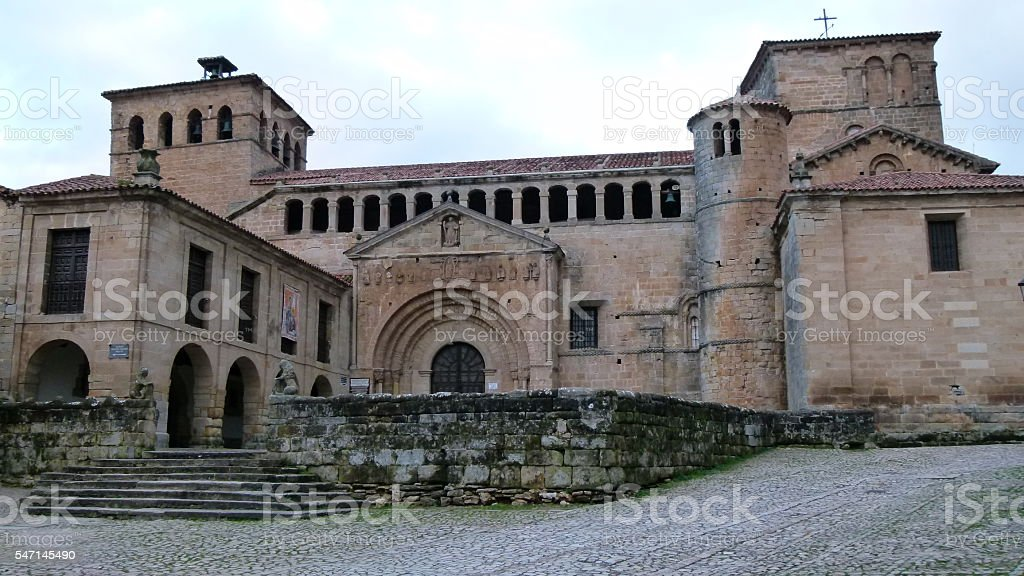 Santillana del Mar stock photo