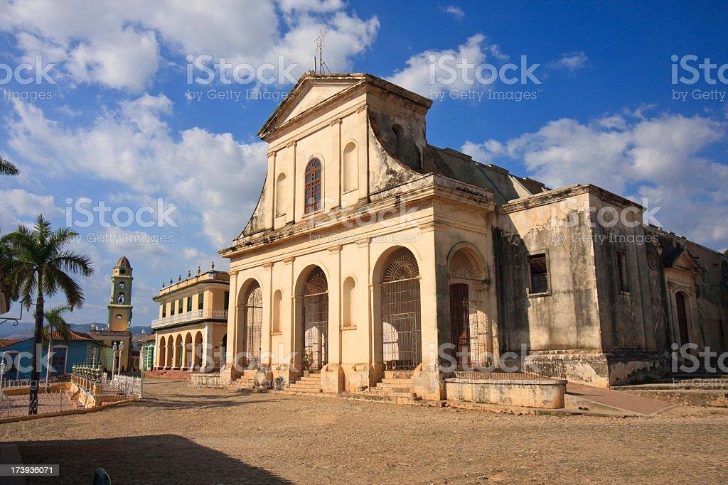 Santisima Church stock photo