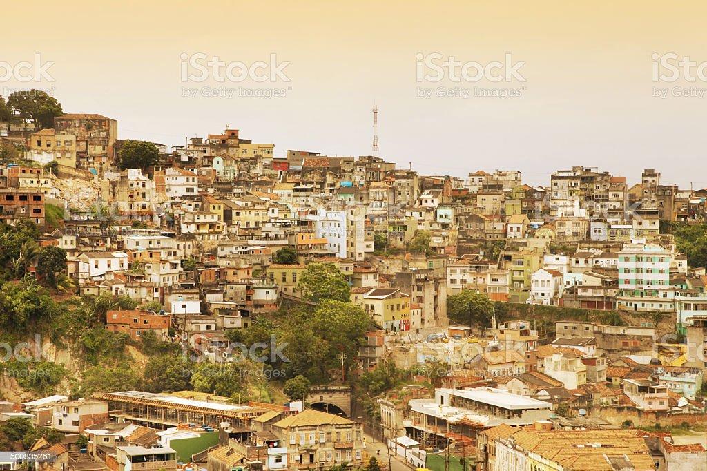 Santo Cristo district in Rio de Janeiro royalty-free stock photo