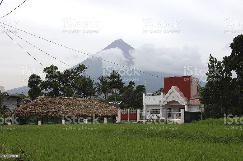 Santo Domingo, Bicol - Philippines stock photo