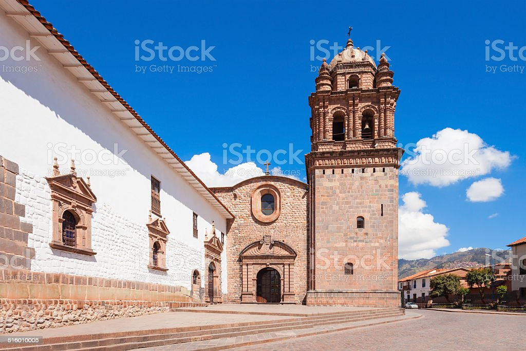 Santo Domingo Church stock photo