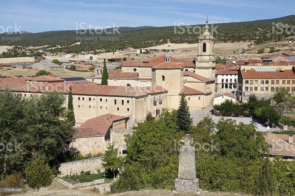 Santo Domingo de Silos Monastery stock photo