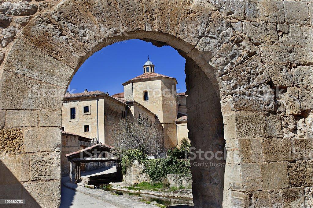 Santo Domingo de Silos (Burgos,Spain) stock photo