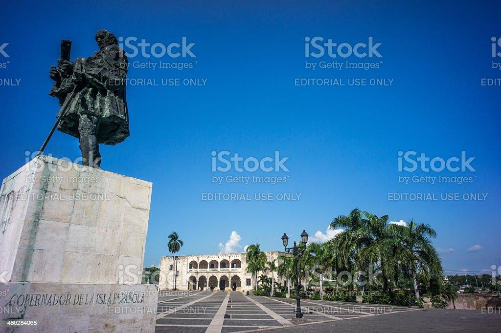 Santo Domingo stock photo