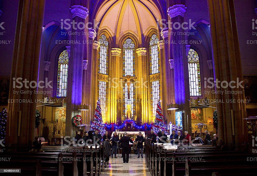 S.Antoine Catholic Church stock photo