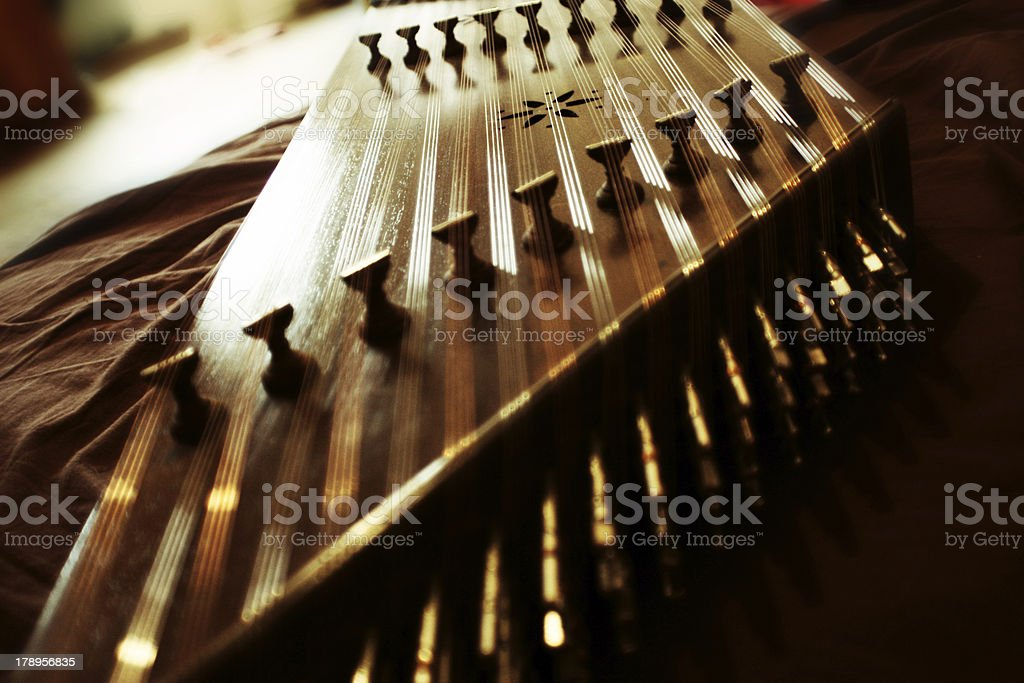 Santoor stock photo
