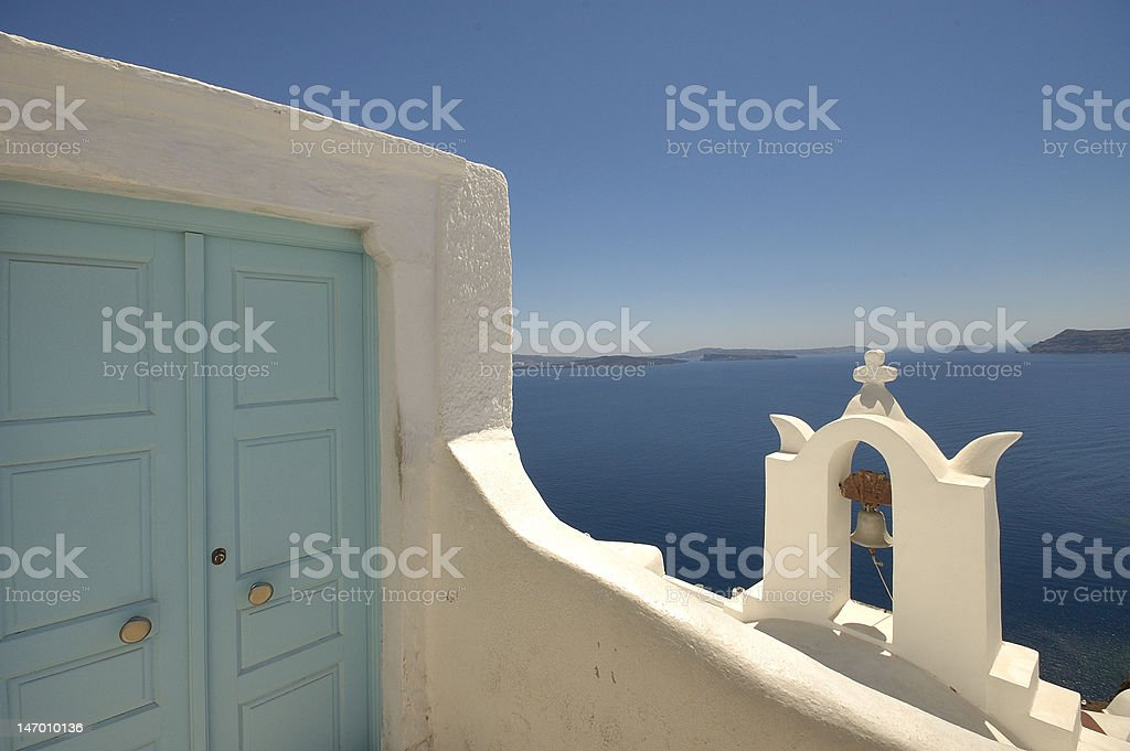 Santorini 4 royalty-free stock photo