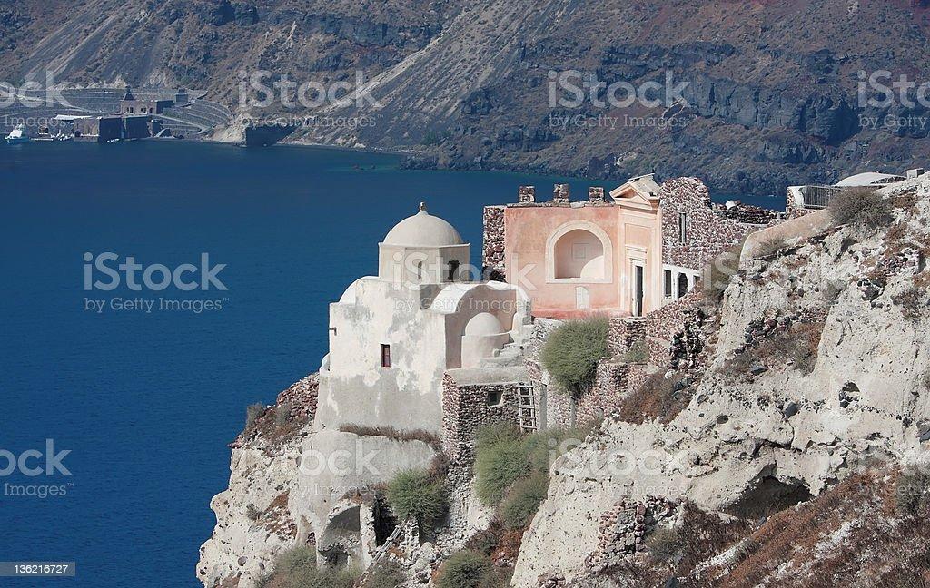 Santorin, Griechenland Lizenzfreies stock-foto