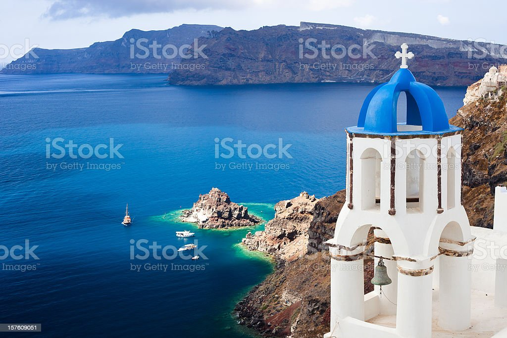Santorini, Greece royalty-free stock photo
