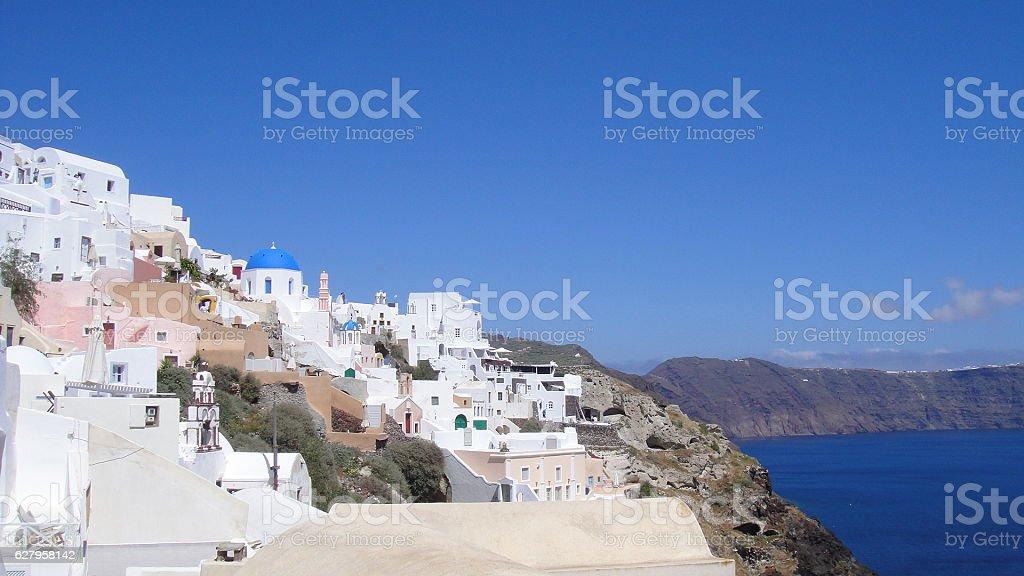 Santorini Greece,Σαντορίνη, Ελλάδα stock photo