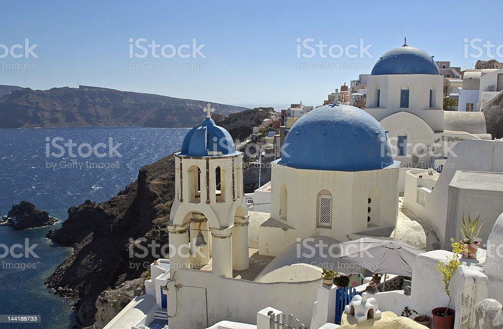Santorini Greek Island holiday sun royalty-free stock photo