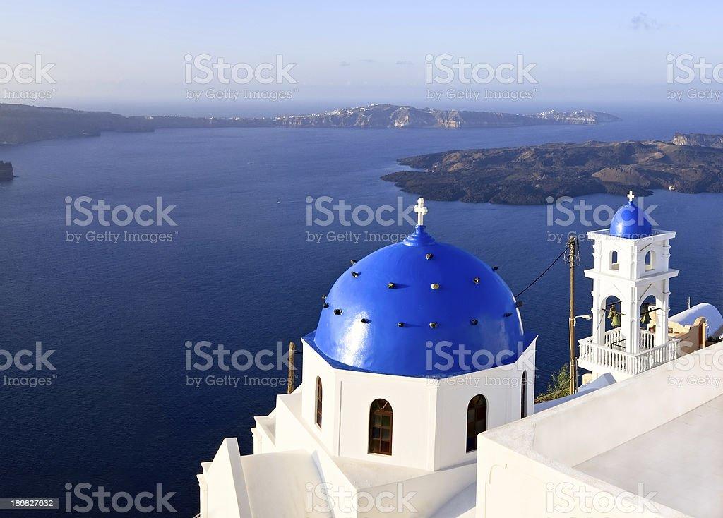 Santorini Island, Greece. royalty-free stock photo