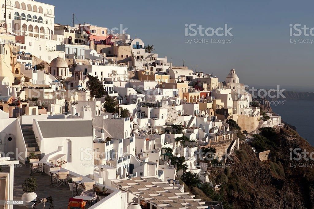Santorini island, Greece royalty-free stock photo