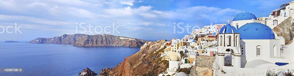 Santorini Oia stock photo