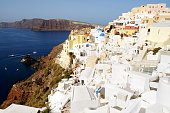 Santorini Oia - View to the Caldera