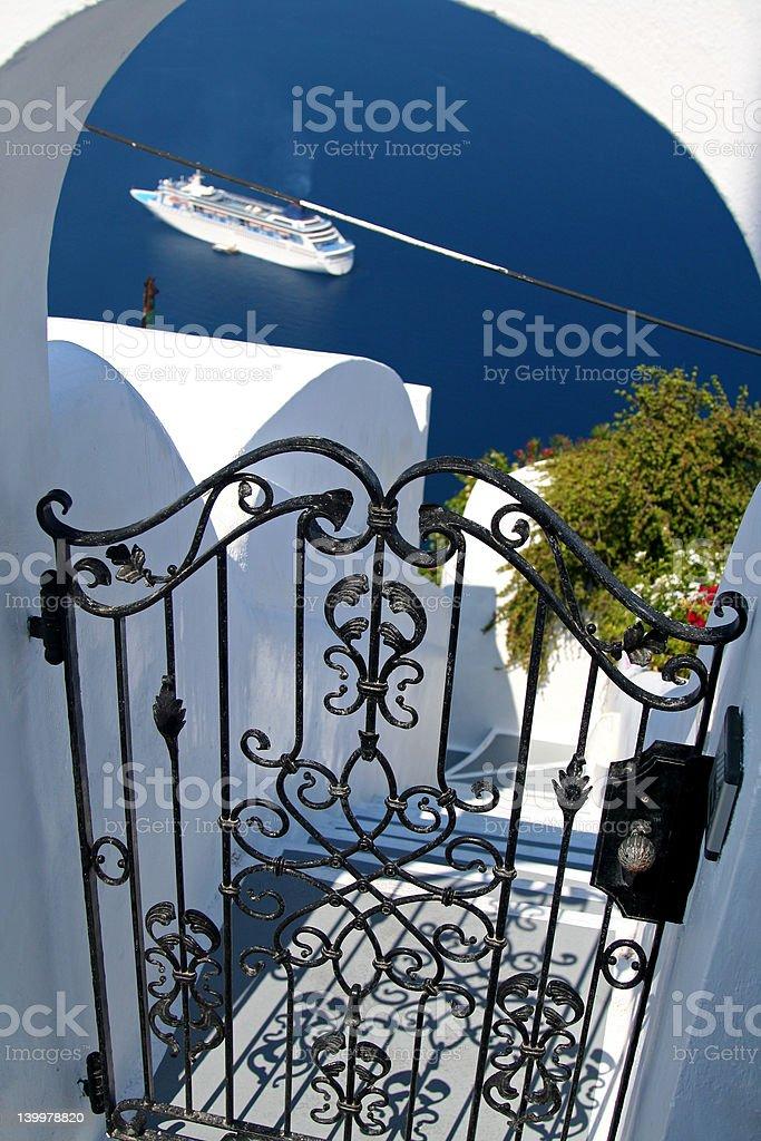Santorini royalty-free stock photo