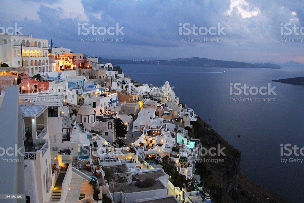 Santorini zbiór zdjęć royalty-free