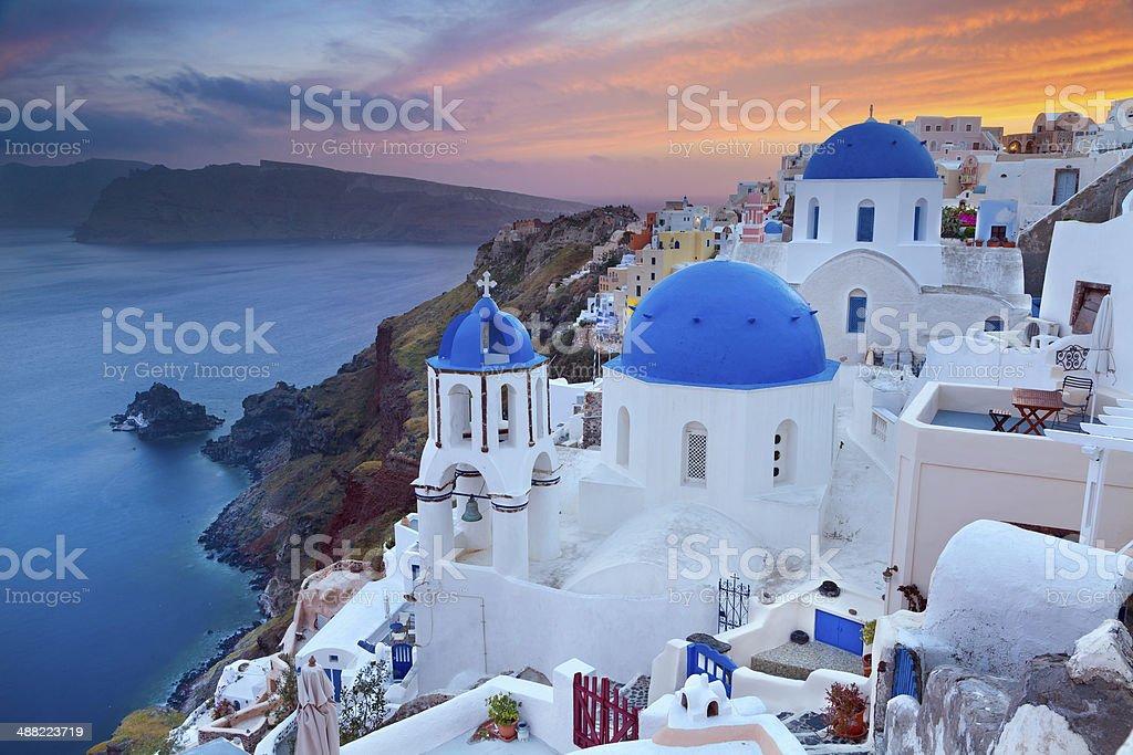 Santorini. stock photo