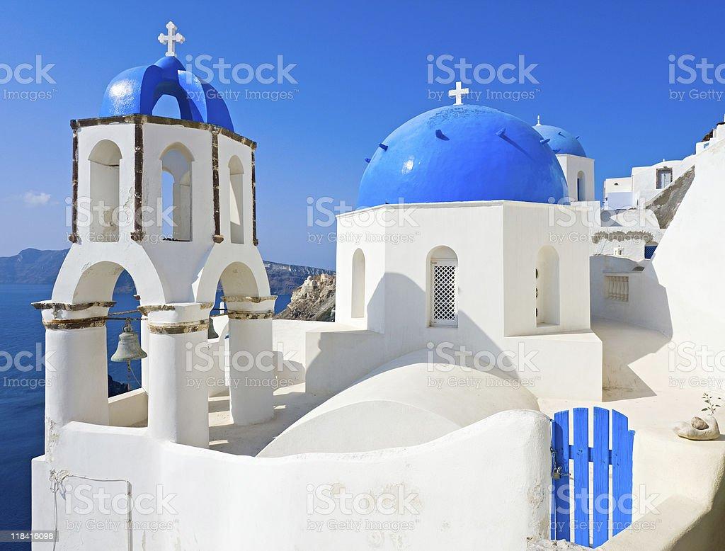 Santorini view, Greece royalty-free stock photo