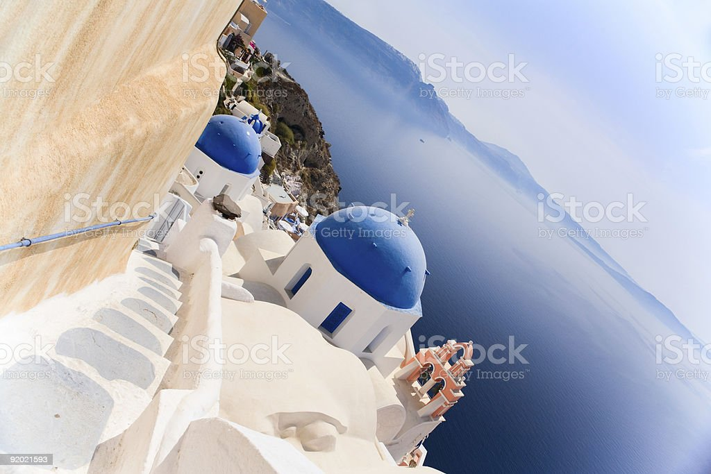 Santorini view royalty-free stock photo