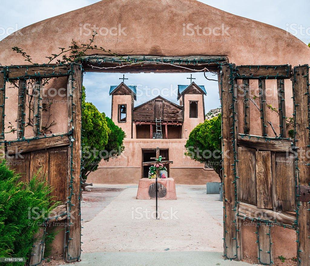 Santuario De Chimayo, Chimayo, New Mexico stock photo