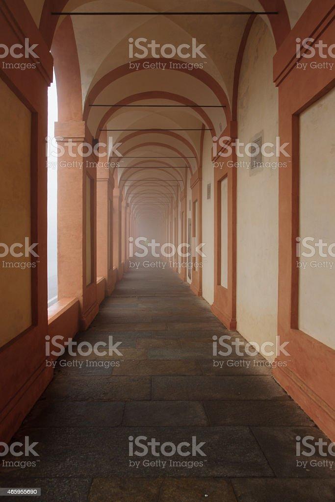 Santuario di Madonna di San Luca, Bologna stock photo