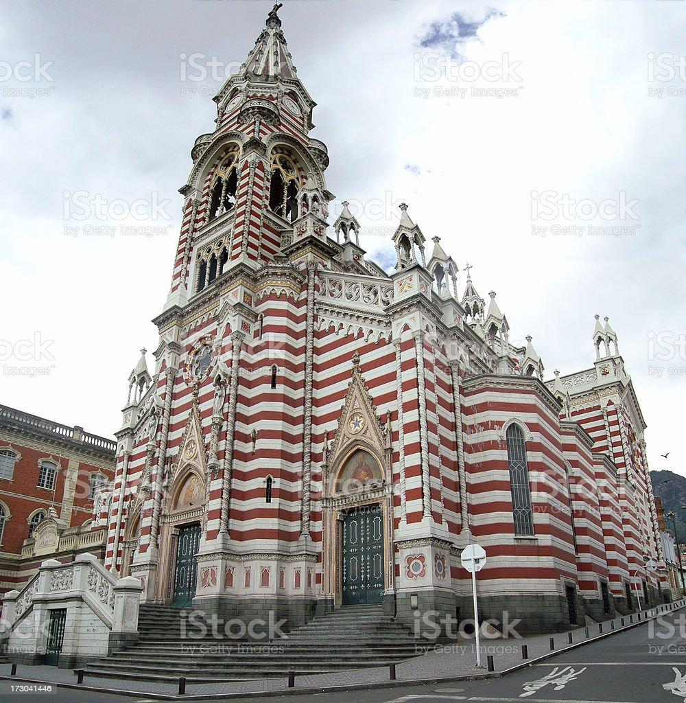 Santurio Nuestra Señora del Carmen royalty-free stock photo