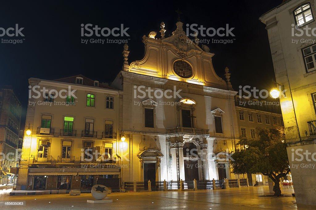 Sao Domingos Church royalty-free stock photo