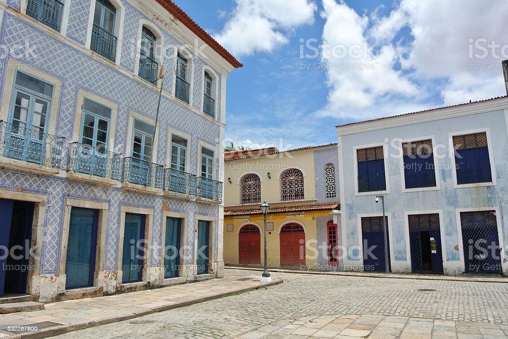 Sao Luis do Maranhao stock photo
