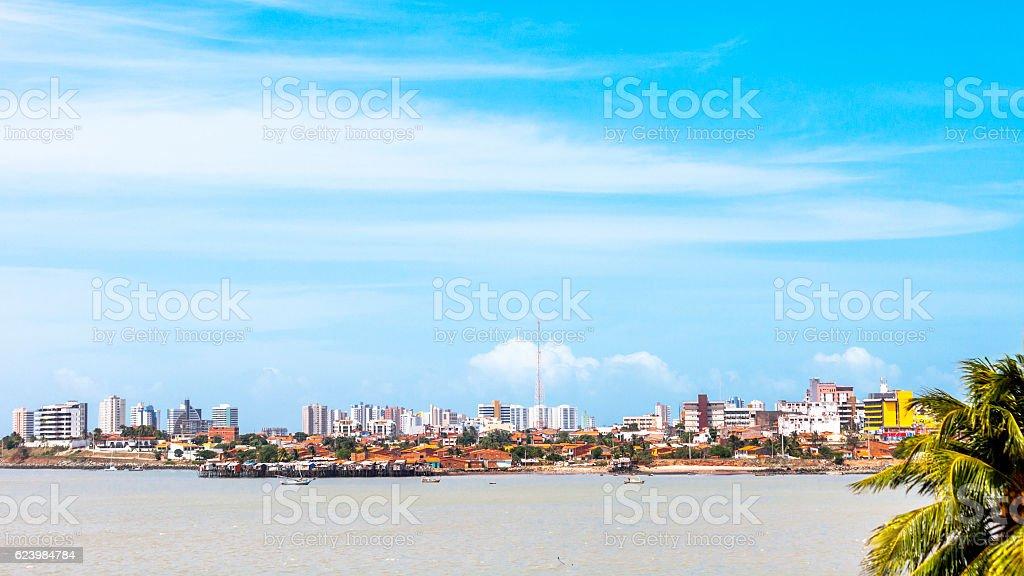 Sao Luis, Maranhao, Brazil. stock photo