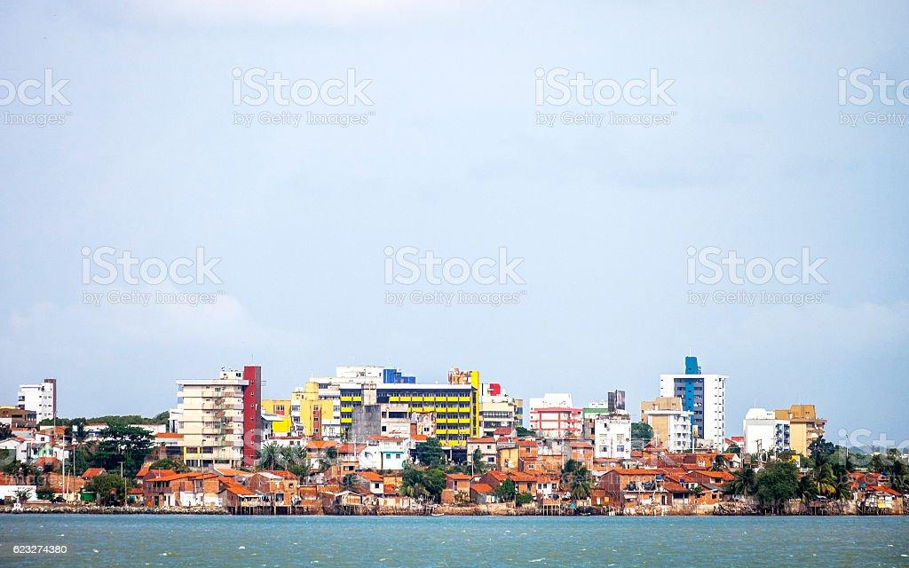 Sao Luis skyline, Brazil. stock photo