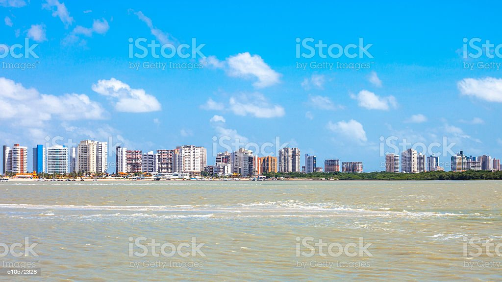 Sao Luis skyline. Maranhao, Brazil. stock photo
