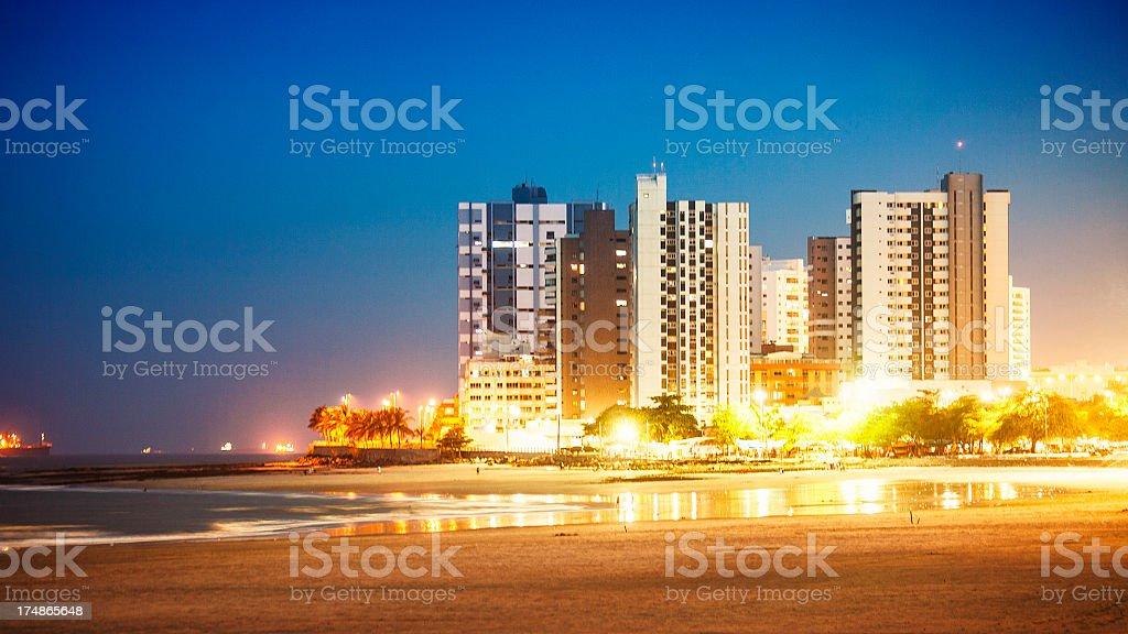 Sao Luis skyline. stock photo