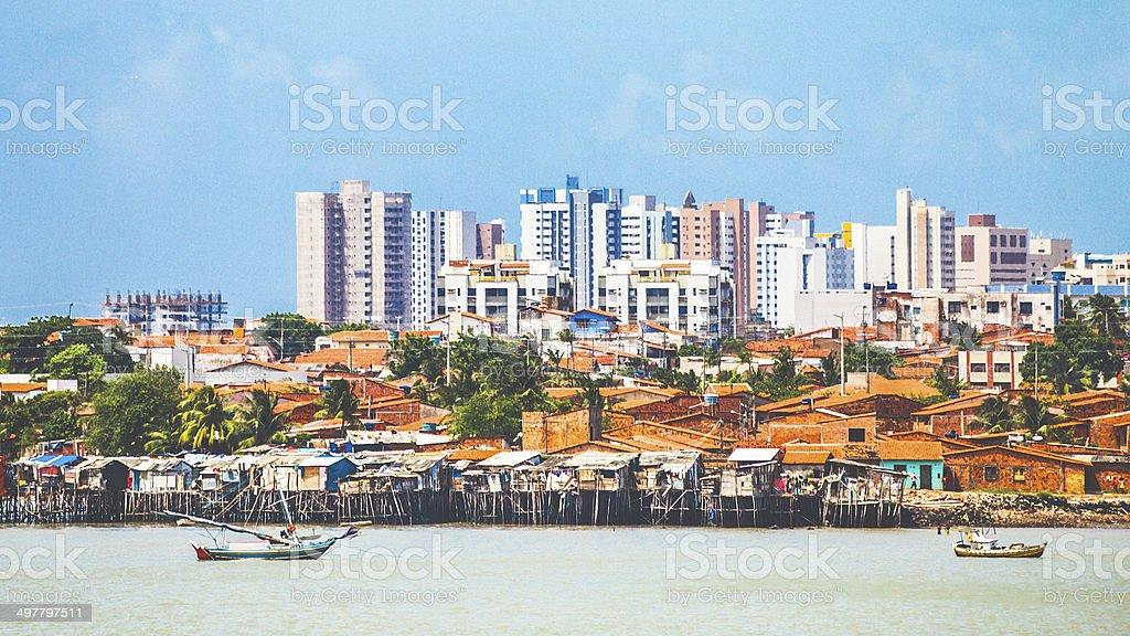 Sao Luis view. stock photo