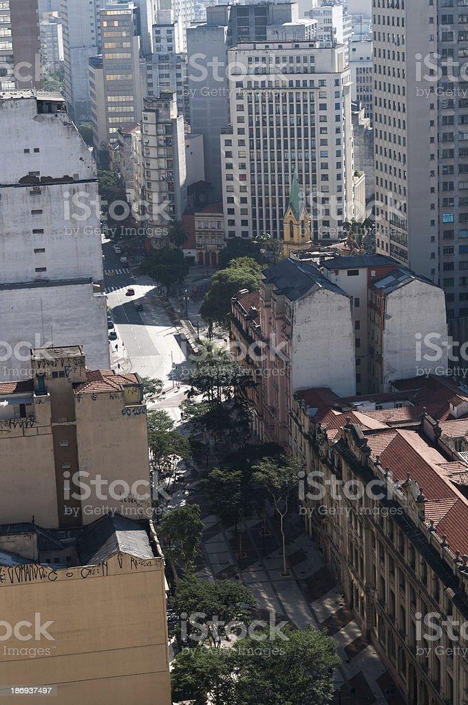 sao paulo city royalty-free stock photo