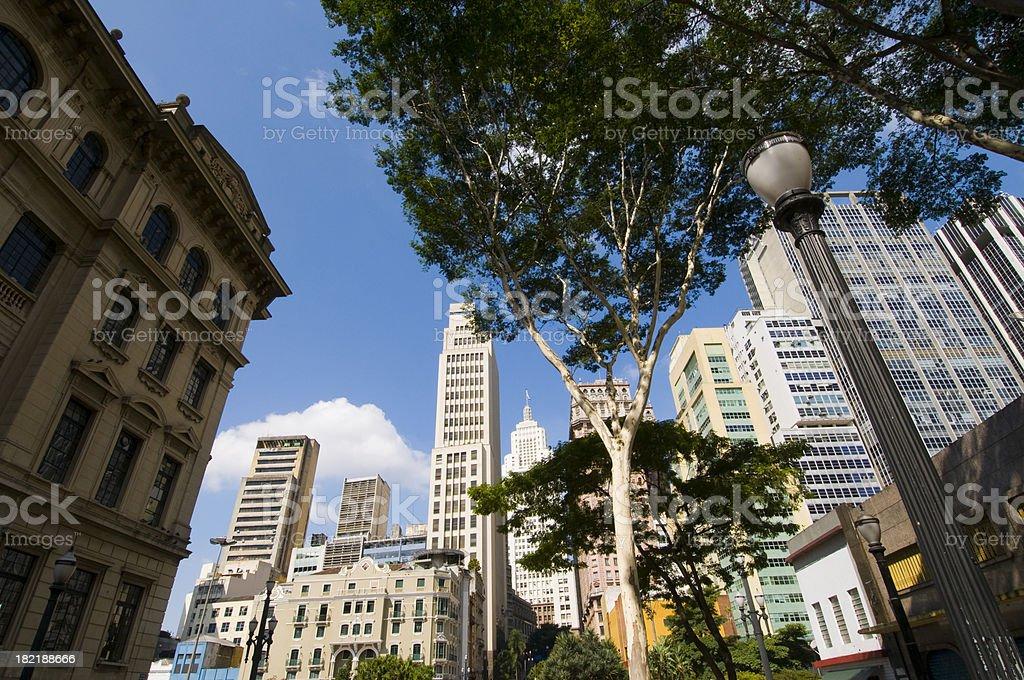 Sao Paulo Downtown royalty-free stock photo