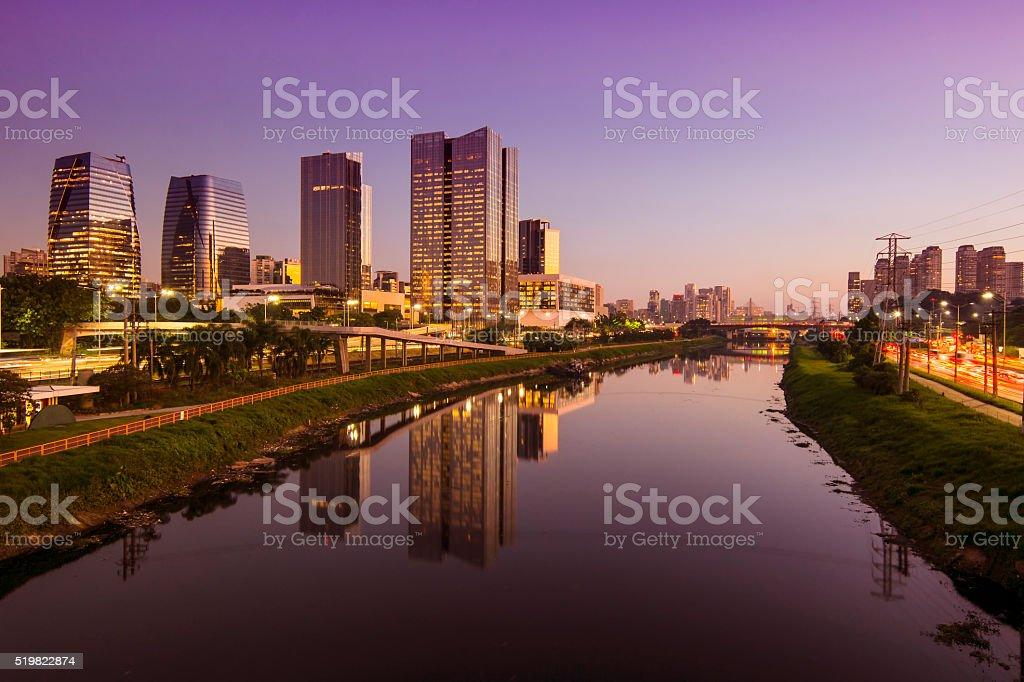 Sao Paulo stock photo