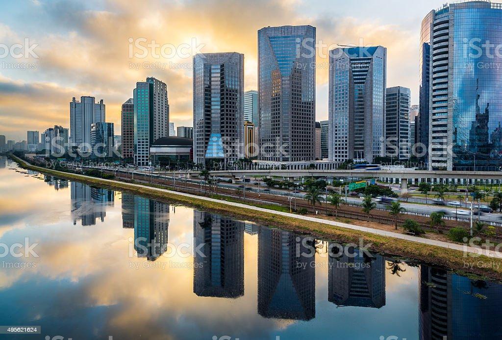 Sao Paulo Skyline stock photo