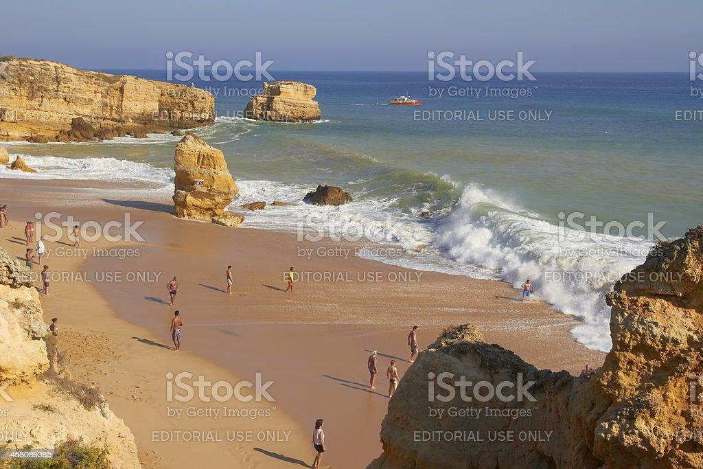 Sao Rafael, Algarve, Portugal royalty-free stock photo
