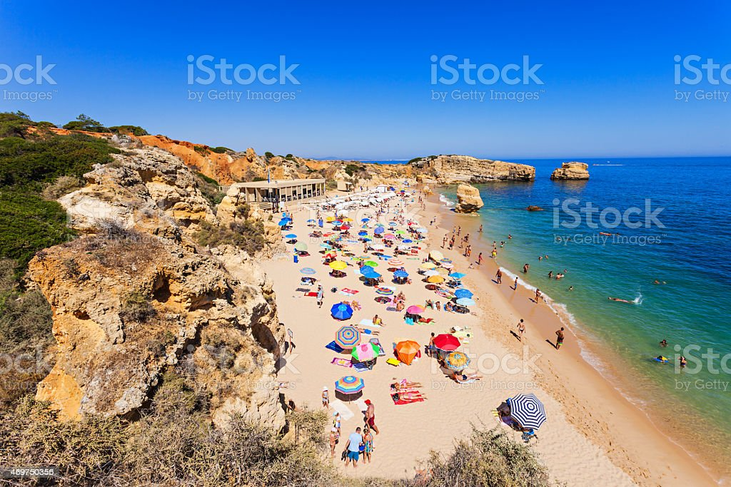 Sao Rafael beach stock photo