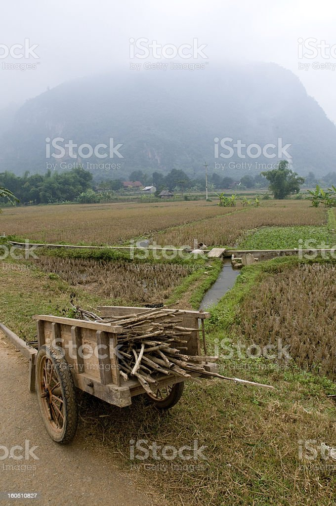 Sapa Countryside, Vietnam royalty-free stock photo