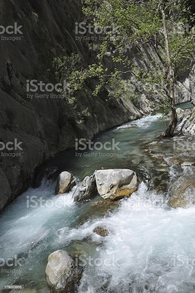 Sapadere Canyon, Turkey royalty-free stock photo