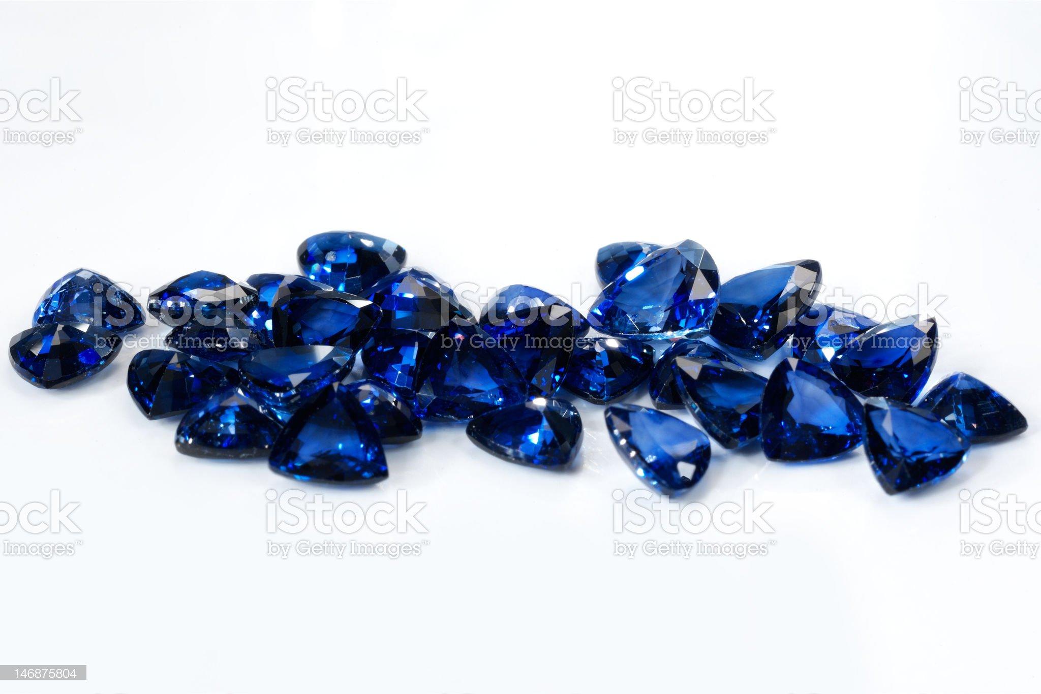 saphire royalty-free stock photo