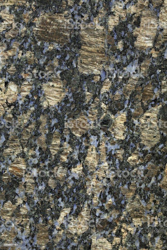 Sapphire Brown Granite royalty-free stock photo