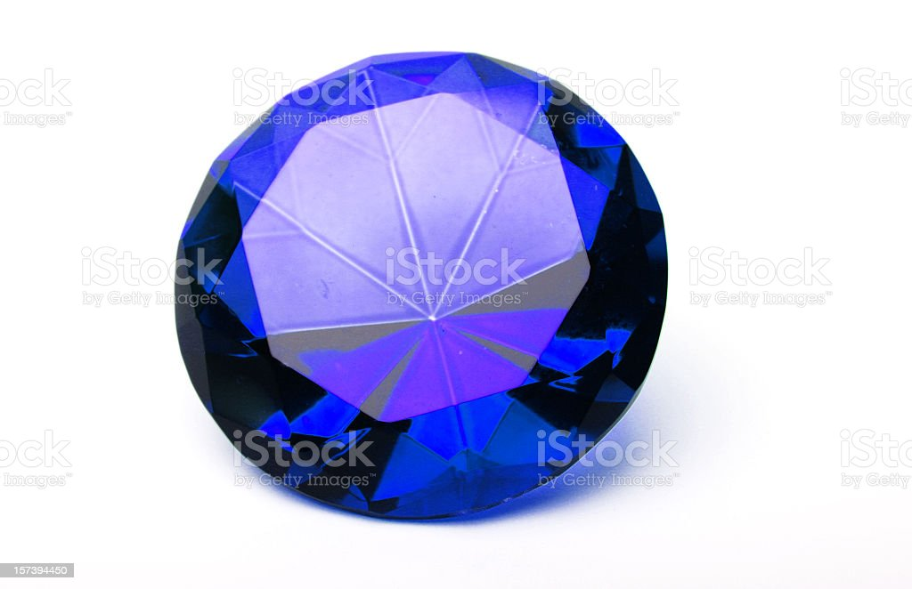 Sapphire royalty-free stock photo