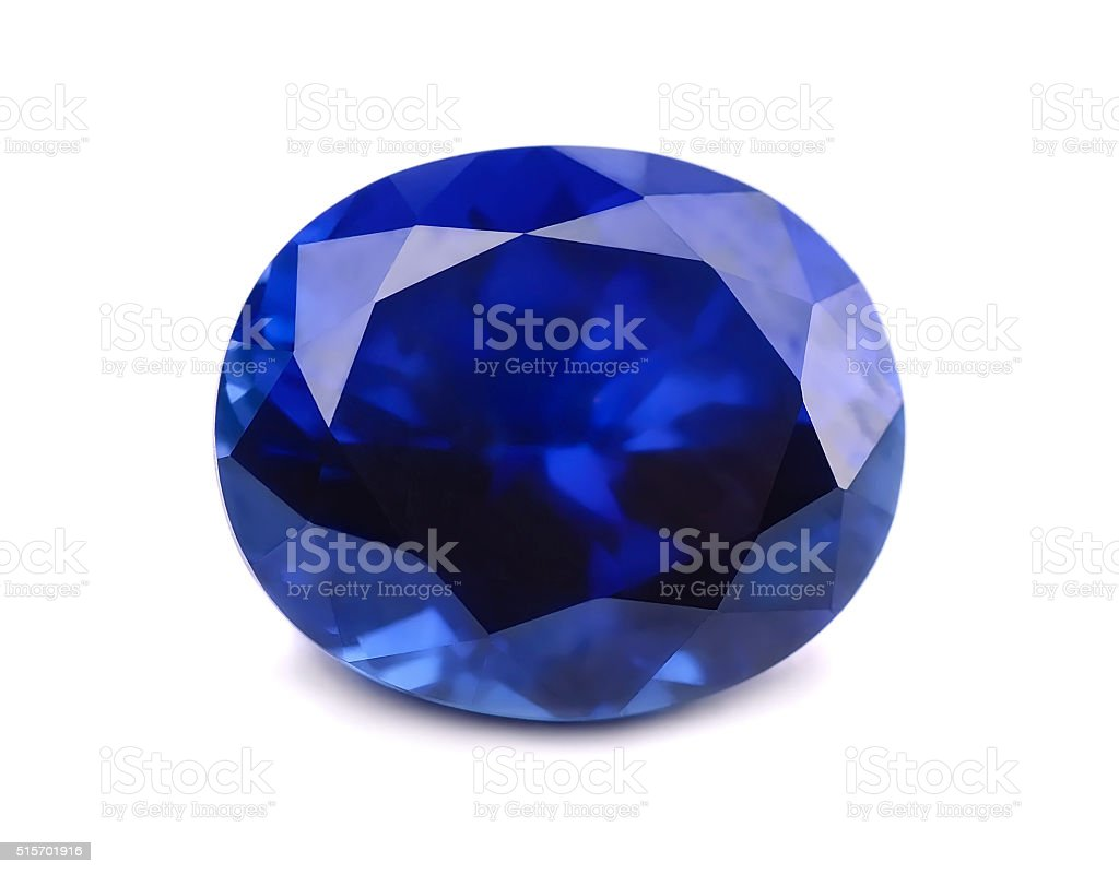 Sapphire stock photo