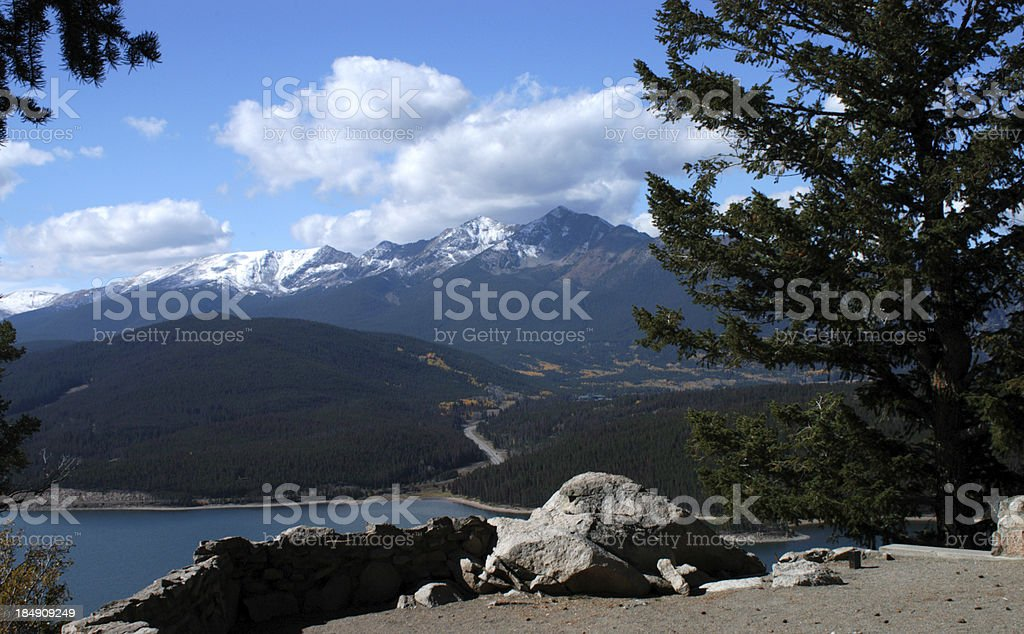 Sapphire Point, Dillon, Colorado stock photo