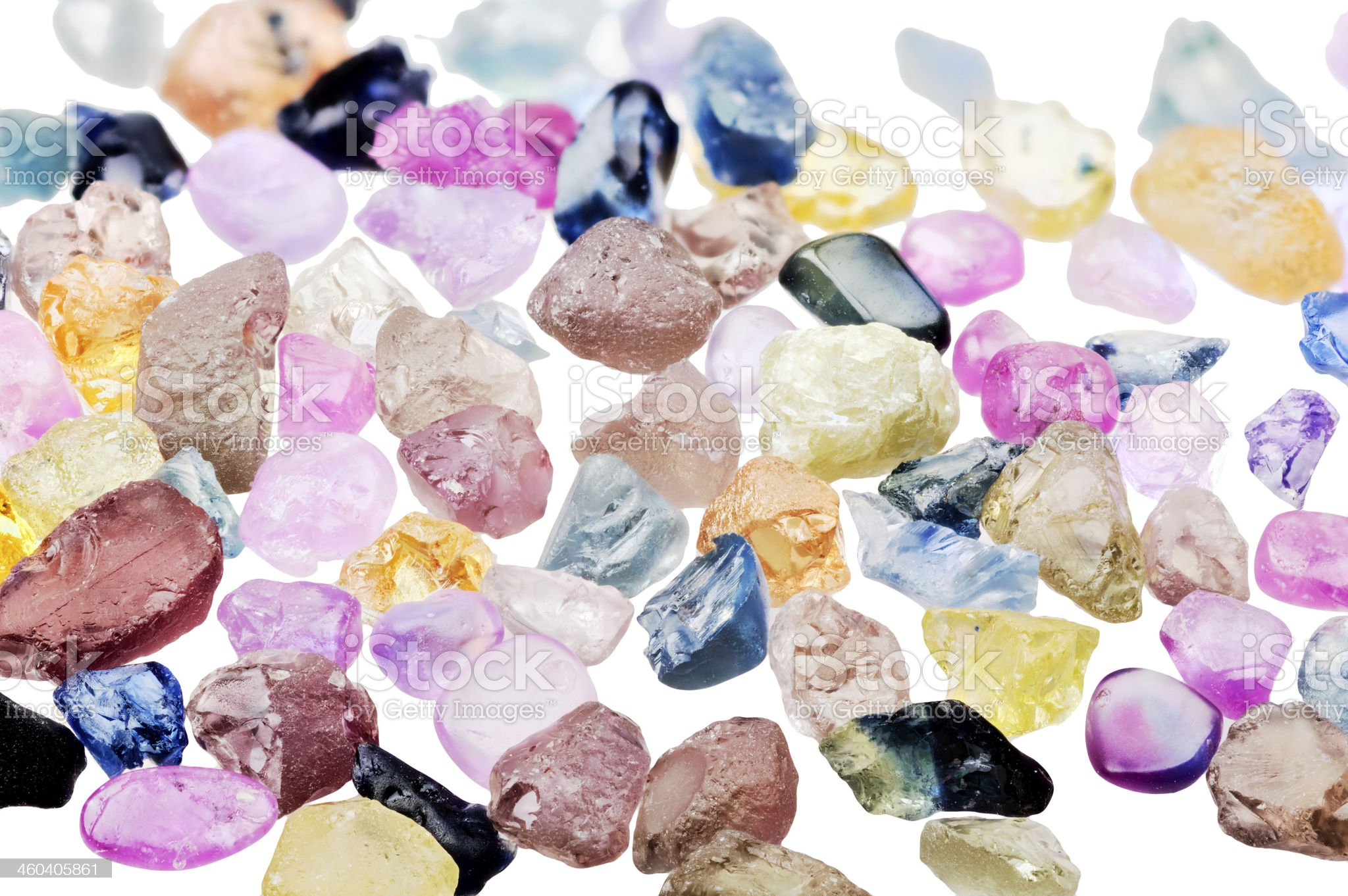 Sapphires royalty-free stock photo